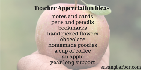Show Teachers Appreciation by